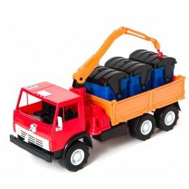 Машинка мусоровоз Бортовая с манипулятором  Х3 280 Орион