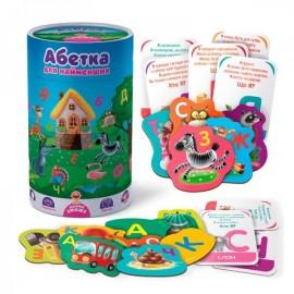 Игра для самых маленьких Абетка в тубусе VT2911-013Vladi Toys