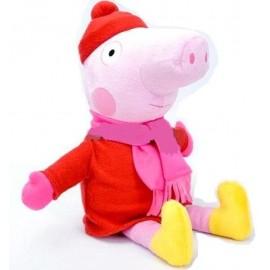 Мягкая игрушка Свинка Пеппа в зимней одежде 2028-92