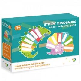 Настольная игра Изучам цвета Динозаврики 300138