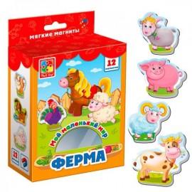 Мягкие магниты Мой маленький мир Ферма 3106-09