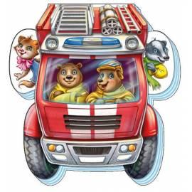 Книжка На дороге: Отважная пожарная машина 310899 Ранок Креатив