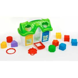 Домик сортер с ключиком 32.000 Toys Plast