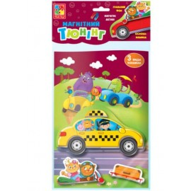 Магнитная игра Тюнинг VT3204-25 Vladi Toys