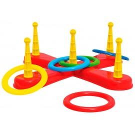 Кольцеброс детский с кольцами