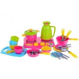 Посудка детская игровая Нежность 3589 Технок