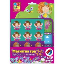 Магнитная игра Феи Крестики-нолики VT3703-07