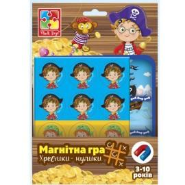 Магнитная игра Пираты Крестики-нолики VT3703-06