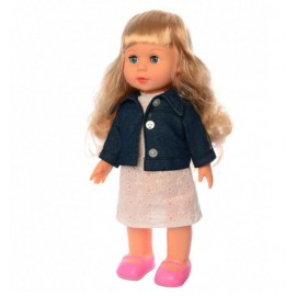Кукла Даринка ходит музыкальная на украинском языке 41 см 3882-2 большая