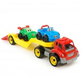 Автовоз з набором машинок 3909 ТехноК