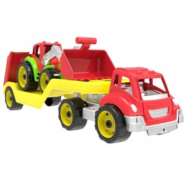Автовоз детский с большим трактором 3916 Технок