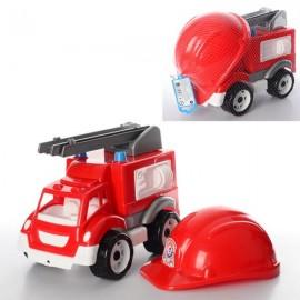 Машина пожарная с каской пожарника 3978 Технок