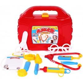Набор доктора детский в красном чемодане 4012 Технок