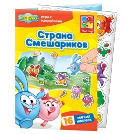 Набор наклеек «Смешарики» 4206-21 Vladi Toys