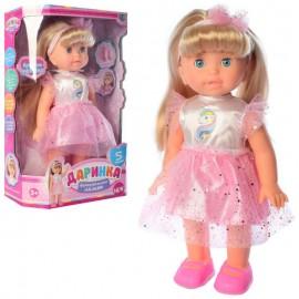 Кукла Даринка музыкальная ходит реагирует на хлопок M 4278 UA
