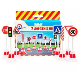Набор дорожных знаков 4357 Технок