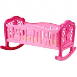Кроватка для куклы пластмассовая Люлька 4531 ТехноК