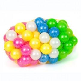 Набор шариков перламутровых 96 штук 467 ОРИОН в сетке