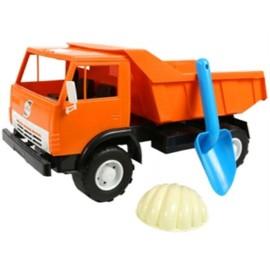 Машина-самосвал пластмассовая игрушечная К-Маз с лопаткой Х2 471 Орион, Одесса