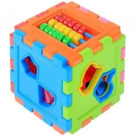 Сортер логический куб со счетами 50-201 Киндервей
