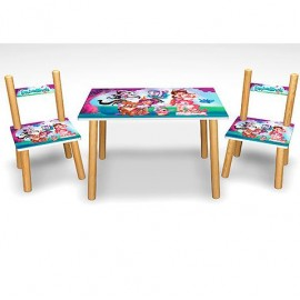 Детский стол и 2 стула Энчатималс 501-25
