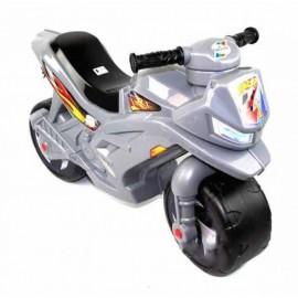 Байк Толокар каталка мотоцикл серый 501 Орион