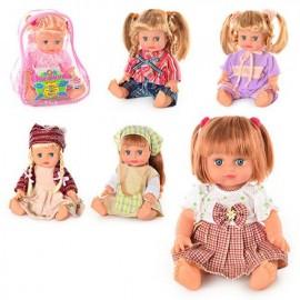 Музыкальная кукла Оксана в рюкзаке большая 5138-5079-5141-5143 на украинском