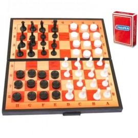 Настольная игра шахматы, шашки, карты и нарды 5240 Максимус
