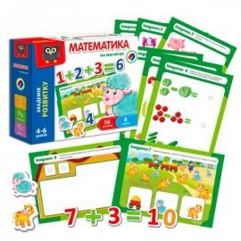 Математика на магнитах укр VT5411-04 Vladi Toys