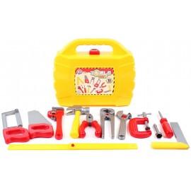 Набор инструментов в желтом чемодане 5880 ТехноК