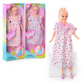Кукла с младенцем беременная  DEFA 6001