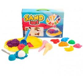 Набор для игры с песком+кинетический песок  6016 ТехноК