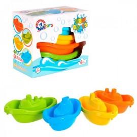 Набор корабликов пластиковых 6597 ТехноК