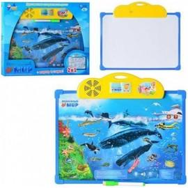 Плакат-досточка Подводный мир 7281 Joy Toy