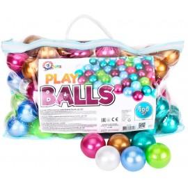 Набор шариков перламутровых для сухих бассейнов в сумке 6 см 7327 ТехноК