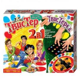 Напольная игра Гранд Твистер 2в1 плюс Твистерок Danko Toys