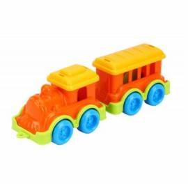 Поезд мини с вагончиком пластиковый 8089 Технок