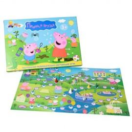 Настольная игра бродилка Свинка Пеппа 157 Danko Toys