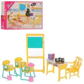 Мебель для кукол Школьная мебель. Класс.  9916 Gloria