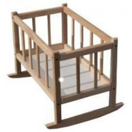 Кроватка деревянная для кукол  Бук ТМ Дерево