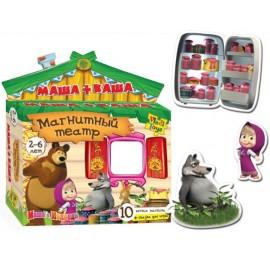 Магнитный театр с Машей VT 3206 Vladi Toys