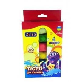 Тесто для лепки Ассорти 6 цветов Окто 41001