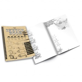 Набор для креативного рисования Скетчбук Sketch Book SB-01-02 Данко Тойс