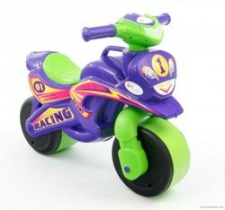Байк музыкальный мотоцикл с подсветкой для девочки Фламинго 0139 ТМ Долони