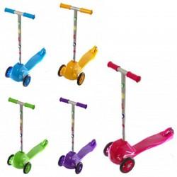 Самокат детский трехколесный пластиковый 5 цветов 0153 Doloni-toys