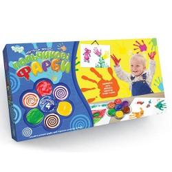 Пальчиковые краски для малышей 4 цвета РК-02-02 Данко Тойс Украина