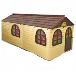 Детский домик большой пластиковый для улицы и дома 03550 Долони