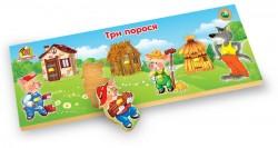 Деревянная рамка-вкладыш по Монтессори Сказки РВ-035-039 Вундеркинд, Одесса