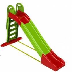 Горка детская большая для детей старше 3-х лет 014550 ТМ Долони тойс зелено-красная