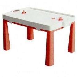 Стол пластиковый с насадкой для аэрохоккея красный 04580/5 Doloni